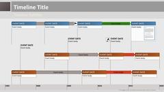 Timeline theme grey